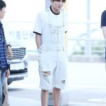Awww Jungkook bought the cute overalls himself in Sweden! SOOO CUTE BABY 😍❤️ https://t.co/y05Rlp1DHl