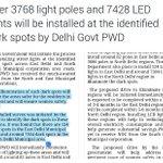 Pic 1 : AAP Manifesto Promise No 28 promised adequate street lights Pic 2 : Street Lighting begins, Jo Kaha So Kiya https://t.co/TgNHWgX49E