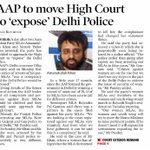 """AAP to move High Court to """"expose"""" Delhi Police https://t.co/rt7mOFT0ip https://t.co/zmrxmjDYPD"""