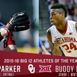 .@OU_Softballs Paige Parker & @OU_MBBalls Buddy Hield named 2015-16 Athletes of the Year- https://t.co/9vVIFp2A9g https://t.co/ueKrLtn89n