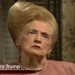 This photo of Donald Trumps mum looks like a character in a film about Trumps life where Trump plays all the roles https://t.co/eUXbfFT0X5