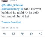 .@ArvindKejriwal one of your abusive supporters, not only your MLAs but followers are also 3rd class https://t.co/LVrfSCwxoq
