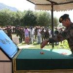 Lt Gen DS Hooda Army Commander Northern Command pays homage to martyrs of Op Vijay at Dras #KargilVijayDiwas https://t.co/7DMx4p6S8a