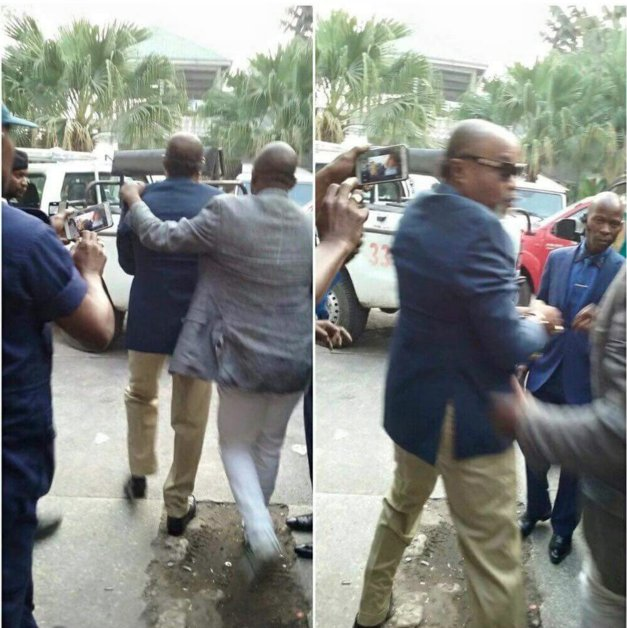 JUST IN : Koffi Olomide arrested, charged & jailed for one year in Kinshasa for 'assaulting' a female dancer at JKIA https://t.co/jSfP2pMuvX