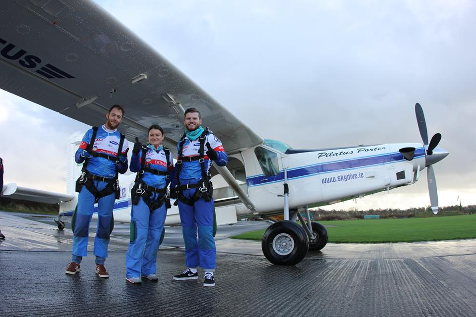 Throwback to Nov 2014 - The DID team about to skydive in aid of @Temple_Street  #charitytuesday #skydive #greatcause https://t.co/leKsQqRlyI
