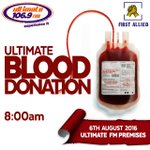 This 6th August  At the premises of ultimate fm  Join #UltimateFmBloodDonation  Pls donate https://t.co/99rc8vuHHi