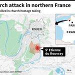 Priest killed in France church hostage taking - AFP latest https://t.co/KVw9zFNiRx https://t.co/bGcYUJmrUO