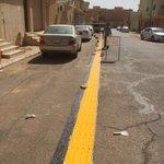 جمعية العوق البصري في #بريدة تبدأ تنفيذ مسارات أرضية خاصة بالمكفوفين تربط مساكنهم بالمساجد المجاورة لهم. https://t.co/sQnHbRmlD5
