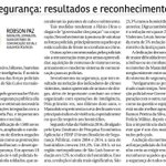 Segurança: resultados e reconhecimento | artigo publicado nesta terça (26) no jornal @imparcialonline 👇👇 https://t.co/pykA0kPhm4