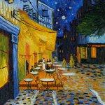 """Terraza de café por la noche"", Vincent van Gogh (1888). #FelizMartes https://t.co/6jABZ6ubLo"