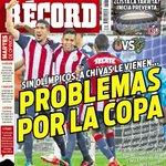 Chivas enfrenta lo más pesado de su calendario sin sus olímpicos #hoyentuRÉCORD #portada https://t.co/nzyvTKrFaY https://t.co/cWssIi8sNB
