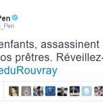Ne leur offrons pas le plaisir de diffuser la haine et semer la discorde ! #SaintEtienneDuRouvray https://t.co/cXCKwLhoDH