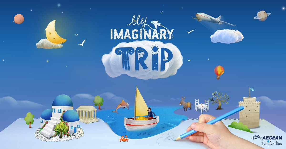 Let your little ones draw their imaginary destination and get a chance to win a family trip!