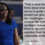"""""""When they go low, we go high,"""" Michelle Obama @FLOTUS. #DemsInPhilly https://t.co/qnVD9QGWyG"""