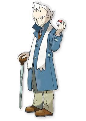 ほんまや…ウィロー博士とチョウジジムのヤナギ似てるしポーズめっちゃ一緒… 「ウィロー(willow)…