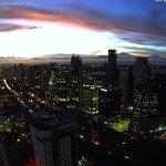Los colores de Ciudad de México #CDMX al amanecer, así en este momento desde InterContiSF Santa Fe. Temp. 13º C https://t.co/IUQimQquLj