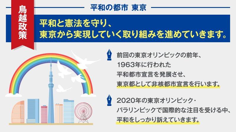 政策コラム第8回は、「平和の都市 東京」についてです。 東京で非核都市宣言を行い、世界に向けて平和を…