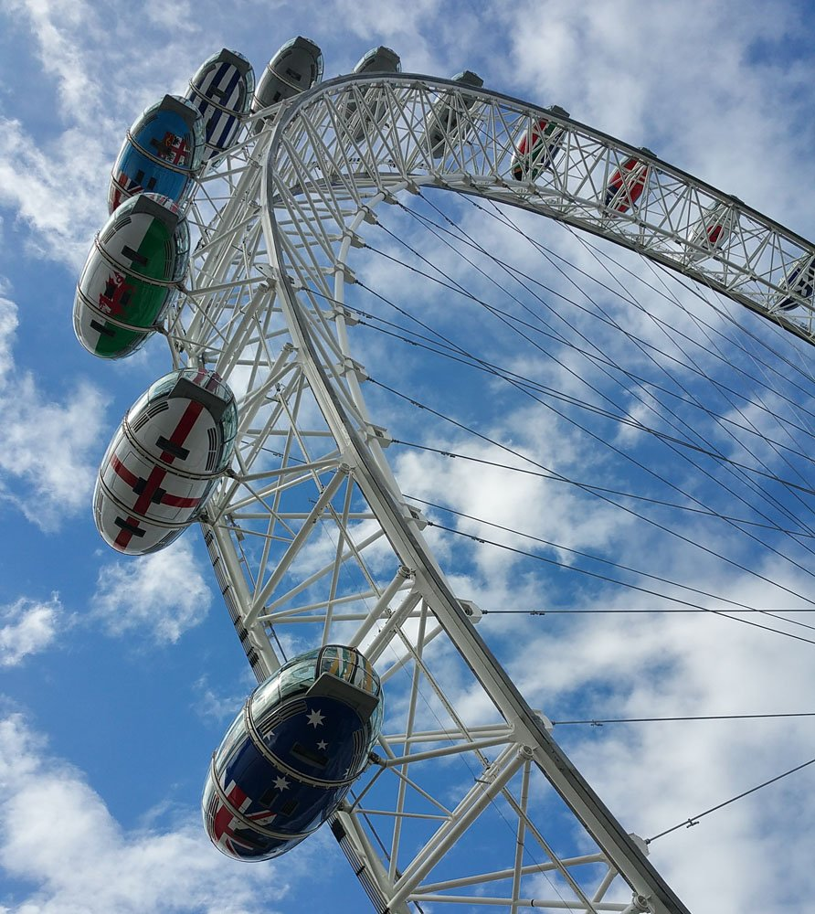 Things are looking up @TheLondonEye #LondonEye #England #UK #beautiful #Travelgram https://t.co/O0XmR3Dka6