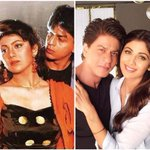 Then and Now: @iamsrk and @TheShilpaShetty have indeed come a long way from their #Baazigar days! Dont you agree? https://t.co/46O2oydM4R