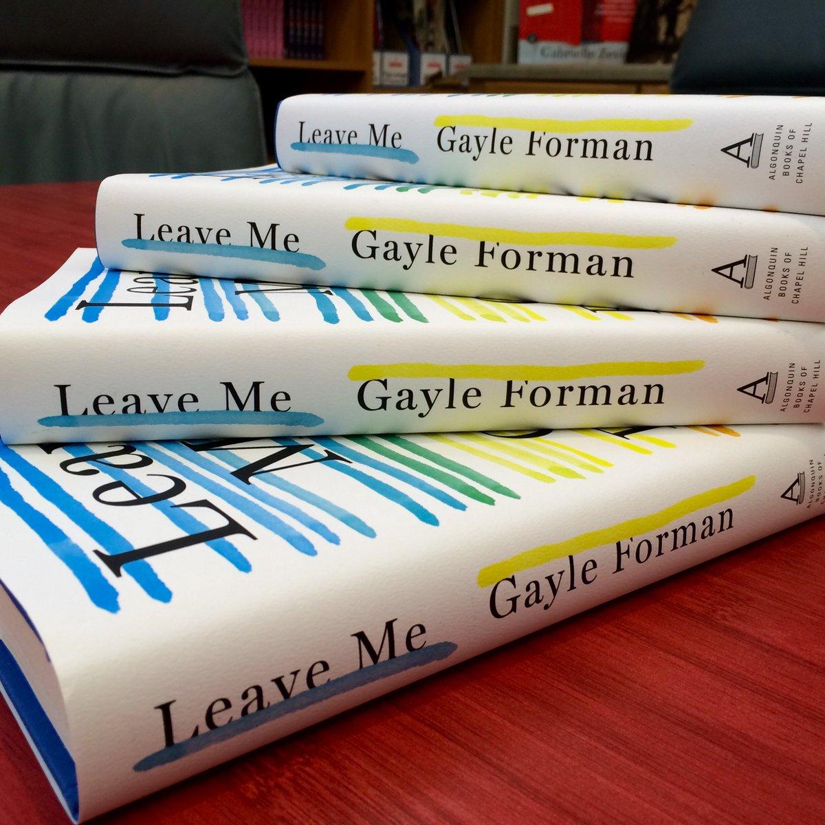 #LeaveMe by @gayleforman coming 9/6. Order your copy today!  https://t.co/wPJ5Xa5u5S https://t.co/K8THcJPAPX