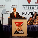 Congressman @RepPittenger takes the stage, addressing VFW Convention ahead of @realDonaldTrump #WCCB @WCCBCharlotte https://t.co/vlwjZaAZtw