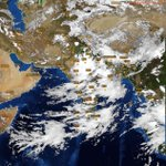 Latest #satellite image showing heavy cloud cover over almost entire #India: https://t.co/dxamA0AbCq #Delhi #Mumbai https://t.co/Y2Wl9gba8x