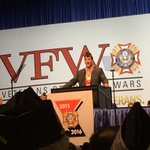 Actor Rob Riggle receives VFW Hall of Fame Award. He is retired Marine Corp. Lt. Col. @wcnc https://t.co/iNhaPsOTaz