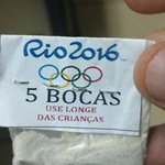Será que tem competição de quem cheira mais carreiras em menos tempo nas olimpíadas Rio 2016? https://t.co/ANUv3JoEdJ