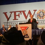 Rep. Pittenger speaking about the freedom veterans have won. @wcnc https://t.co/RXsNmWrVlM