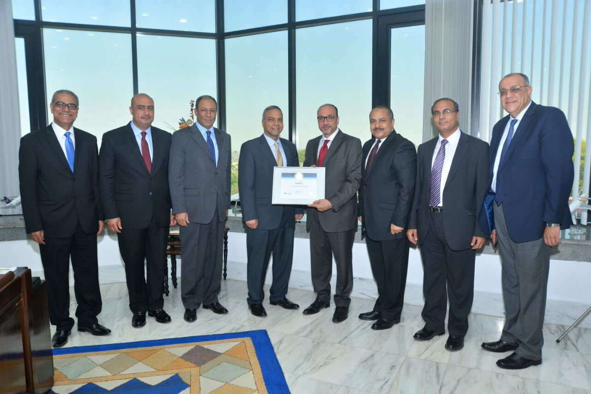 Congrats @EGYPTAIR for achieving IGOM registry status for safety in ground operations