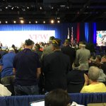 """All Vietnam vets are asked to stand. Sec. of the VA tells them, """"Welcome home."""" @wcnc https://t.co/4c68OSzpqn"""