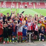 All 70+ children enjoying the first week of the @CTFCofficial holiday course. Book online at https://t.co/NQ88iYme5k https://t.co/SpQRKUqx6J