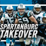 Were taking a road trip to surprise some fans today. See you soon, Spartanburg. #OneCarolina https://t.co/x7DCU3zVa3