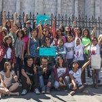 Foto del domingo, con las coordinadoras de la marcha #NiUnaMenos en #Arequipa y el puño bien en alto https://t.co/5J6audH0Wc
