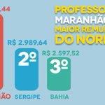 🎓 São ganhos salariais concretos e históricos para os profissionais da educação do Maranhão https://t.co/5pcOnBFsld https://t.co/QhYl9elXtU