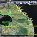 Good afternoon south Florida! Here are the current conditions for our area: https://t.co/Dkj66nG6Vm