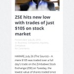 The state of the nation. ZSE $105 26.07.16 Remember the day. Even the markets are speaking #ThisFlag https://t.co/T251DDhlXX
