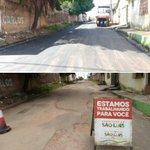 Pavimentação na Rua Barão do Gurupi/Timbiras, João Paulo. @EHolandaJr @FlavioDino @claytonnoleto65 @marciojerry https://t.co/ASdS87qbwa