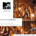 Work From Home esta nominada a Mejor Colaboración en los VMAS 2016. #VMAS2016 #MTVHottest Fifth Harmony https://t.co/HLt87ZxNzU