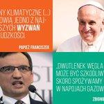 Z okazji #ŚDM zestawiamy wypowiedzi polskich polityków z wypowiedziami paieża Franciszka. 1:0 dla @Pontifex_pl :) https://t.co/odxCPtEXmh