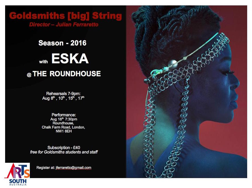 Still looking for players!  Do you play strings? Get in touch with jferraretto@gmail.com :)  #ESKA #Album #Finale https://t.co/eJCmKrdROe