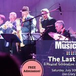 Enjoy the music of The Band? Dont miss The Last Waltz this Saturday at Del Crary Park! #musicfest30 #ptbo https://t.co/jXKk1y0Zgm