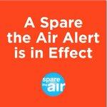#SparetheAir in #Pleasanton today. Consider carpooling or other alternative modes of transportation @SpareTheAir https://t.co/Or0N7CqjtE