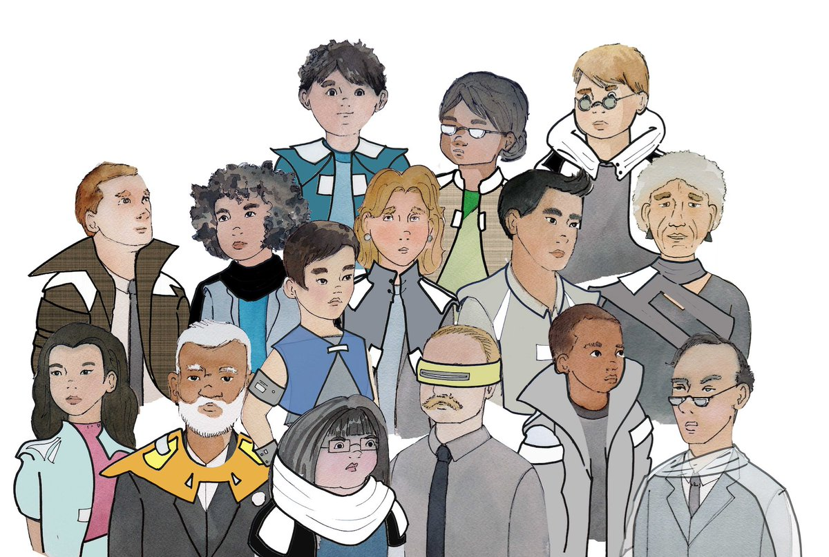 These are some great futuristic characters for our new animated series — add yours here: https://t.co/9rJBcuETcY https://t.co/pw9OVvnc4N