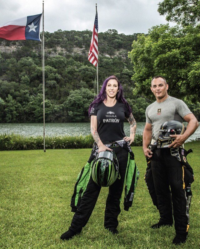 Meet Austin's fastest, @AlexisDejoria and @TheSargeTF, two drag racing champions who are killing the game