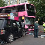 Reading bridge is closed after a crash between a Land Rover and a bus - expected to remain shut until about 5pm. https://t.co/SVdqpTWG3e