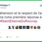 """#Hidalgo dit """"respecter"""" et """"comprendre"""" les terroristes de #SaintEtienneDuRouvray. #Daesh approuve ce message! https://t.co/jij7jzejZQ"""