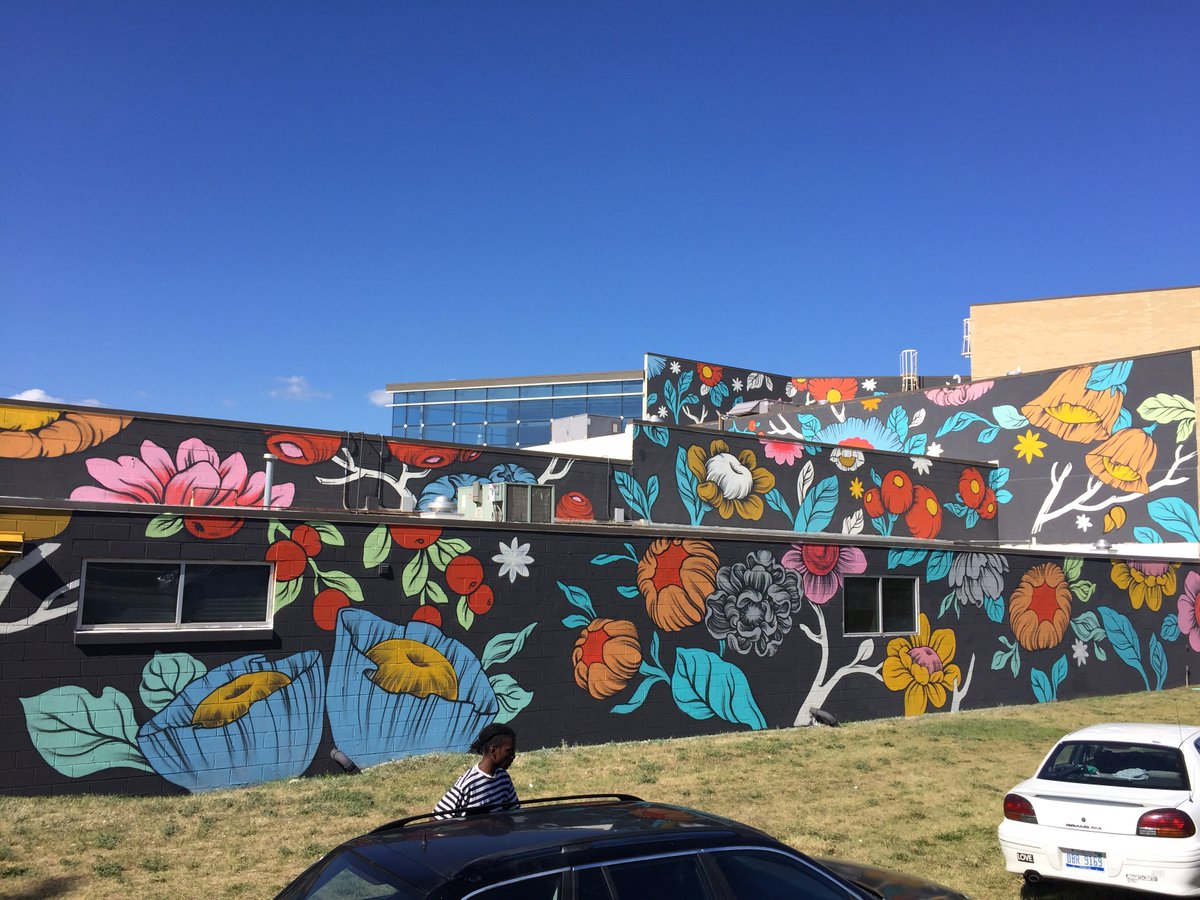 Have you seen Grand Rapids' newest public mural at the @GRapidsBallet ? We're proud to have commissioned this work. https://t.co/b1WbciJygY