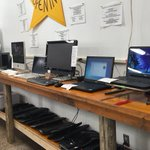 Apple. PC. OSX. Windows. Linux. Desktop. Laptop. Check out our affordable refurbished computers! #Twithaca #ReUse https://t.co/Iul1a0GuVP