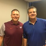 Talking about #Hokies first trip to @NDFootball this season w @espngolic #Hokies #ESPNCarWash https://t.co/QzSCqCOCXs